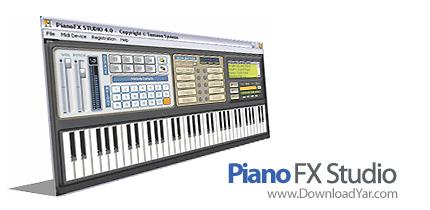 دانلود Piano FX Studio v4 - نرم افزار شبیه ساز پیانو در کامپیوتر