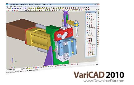 دانلود VariCAD 2010 v2.07 - نرم افزار طراحی قطعات صنعتی