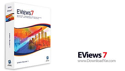 دانلود EViews Enterprise Edition v7.0.0.1 - نرم افزاری حرفه ای برای اساتید و دانشجویان رشته اقتصاد