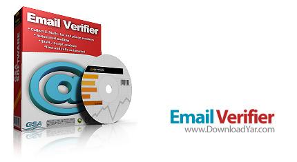 دانلود GSA Email Verifier v1.83 - نرم افزار مدیریت بهتر دریافت ایمیل ها