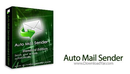 دانلود Auto Mail Sender v4.23 - نرم افزار ارسال ایمیل به صورت اتوماتیک