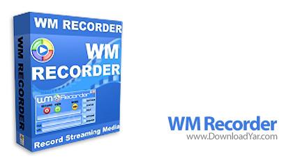 دانلود WM Recorder v14.6 - نرم افزار ذخیره سازی فایل های صوتی و تصویری از اینترنت