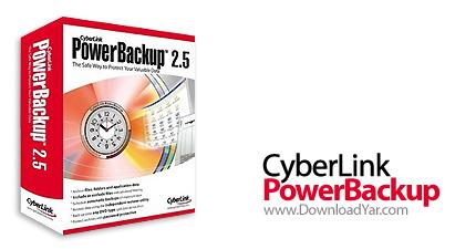دانلود CyberLink PowerBackup v2.50.5529 - نرم افزار تهیه نسخه پشتیبان از انواع فایل ها