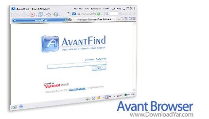دانلود Avant Browser v2010 Build 109 - نرم افزار مرورگر قدرتمند