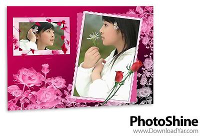 دانلود PhotoShine v3.45 - نرم افزار قرار دادن عکس درون قاب های زیبا