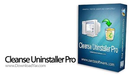 دانلود Cleanse Uninstaller Pro v7.0.0 - نرم افزار حذف حرفه ای برنامه های نصب شده روی ویندوز