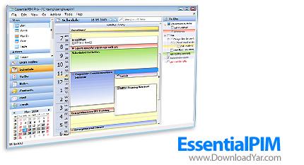 دانلود EssentialPIM v3.71 - نرم افزار مدیریت قرارها و امور کاری