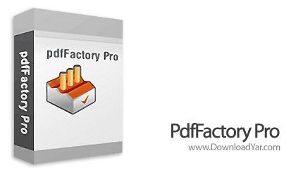 دانلود FinePrint PdfFactory Pro v4.2 - نرم افزار ایجاد فایل های پی دی اف از هر برنامه
