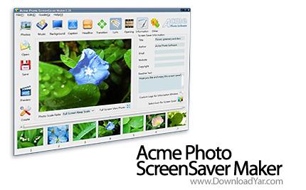 دانلود Acme Photo ScreenSaver Maker v3.21 - نرم افزار طراحی اسکرین سیورهای جذاب