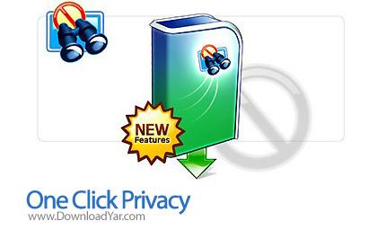 دانلود One Click Privacy v2.3.3 - نرم افزار بهینه ساز و حفظ حریم خصوصی
