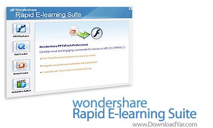 دانلود Wondershare Rapid E-learning Suite Professional v5.6.5.8 - نرم افزار ساخت فیلم های آموزشی