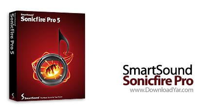 دانلود SmartSound SonicFire Pro v5.5.2 - نرم افزار میکس حرفه ای فایل های صوتی