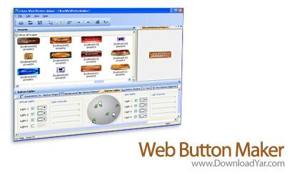 دانلود Web Button Maker v3.05 - نرم افزار ساخت دکمه برای صفحات وب