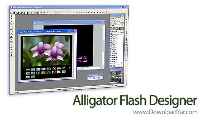 دانلود Alligator Flash Designer v8.0.10 - نرم افزار ساخت انیمیشن های فلش