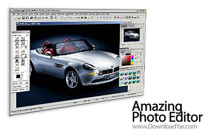 دانلود Amazing Photo Editor v7.9 - نرم افزار ویرایش و تبدیل حرفه ای عکس
