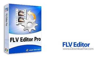 دانلود Moyea FLV Editor Lite v1.0.1.0 - نرم افزار ویرایش فایل های FLV