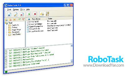 دانلود RoboTask v4.2 - نرم افزار انجام اتوماتیک کارها