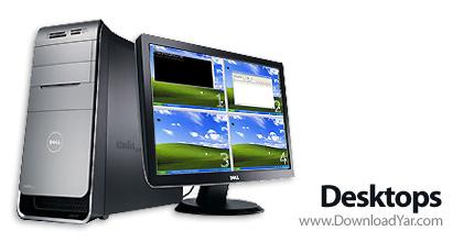 دانلود Desktops v1.02 - نرم افزار ایجاد دسکتاپ های چندگانه