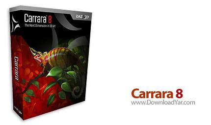 دانلود Carrara 8 Pro v8.0.0.231 - نرم افزار طراحی ۳بعدی