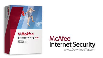 دانلود McAfee Internet Security v2010 - نرم افزار امنیت سیستم