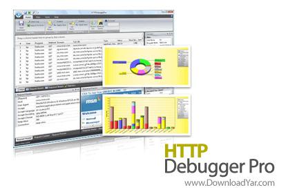 دانلود HTTP Debugger Pro v4.3 - نرم افزار نظارت بر ارتباطات پروتکل HTTP