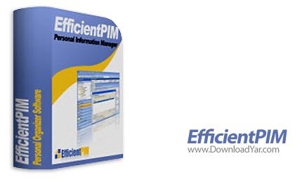 دانلود EfficientPIM Pro v2.95.233 - نرم افزار مدیریت بر امور شخصی روزانه