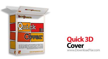 دانلود Quick 3D Cover v2.0.1 - نرم افزار ساخت سریع و آسان جعبه های 3 بعدی