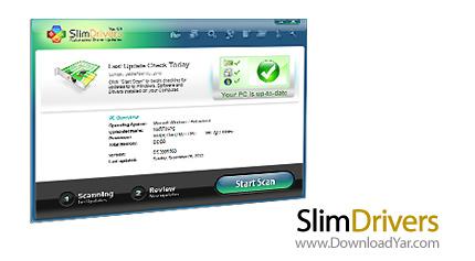 دانلود SlimDrivers v0.9 - نرم افزار آپدیت و پشتیبان گیری درایورها