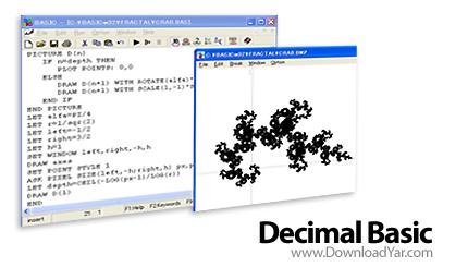 دانلود Decimal BASIC v7.4.6.2 - نرم افزار مفسر بیسیک