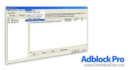 دانلود AdBlock Pro v3.6 - نرم افزار حذف تبلیغات مزاحم اینترنتی