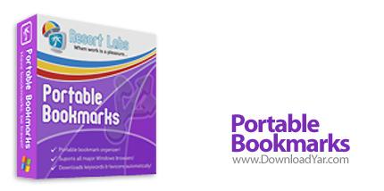 دانلود Resort Labs Portable Bookmarks v2.5.2.409 - نرم افزار ذخیره سازی صفحات محبوب اینترنت بر روی USB