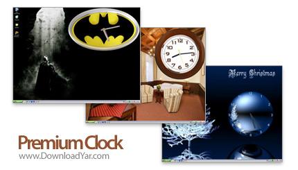 دانلود Premium Clock v2.60 Final - نرم افزار ساعت دیواری زیبا در دسکتاپ