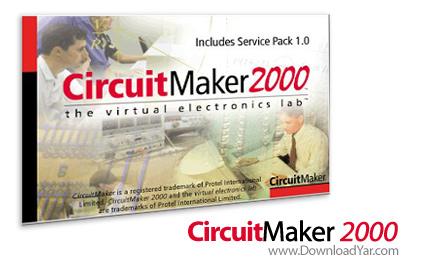 دانلود CircuitMaker 2000 With Service Pack 1 - نرم افزار طراحی مدارات الکترونیکی