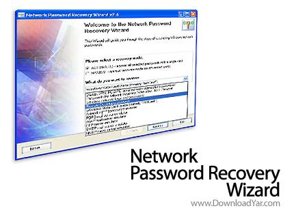 دانلود Network Password Recovery Wizard v5.5.0.639 - نرم افزار بازیابی پسورد شبکه