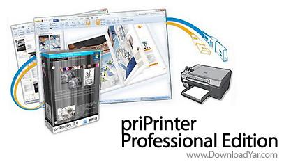 دانلود priPrinter Professional Edition v3.3.0.1047 - نرم افزار پرینتر مجازی