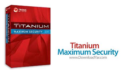 دانلود Trend Micro Titanium Maximum Security 2011 - نرم افزار امنیت کامل سیستم