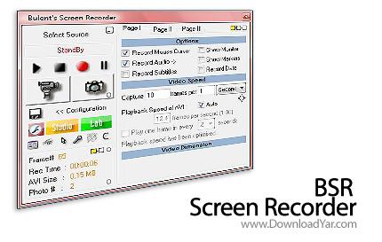 دانلود BSR Screen Recorder v4.4.3 - نرم افزار ضبط صفحه نمایش