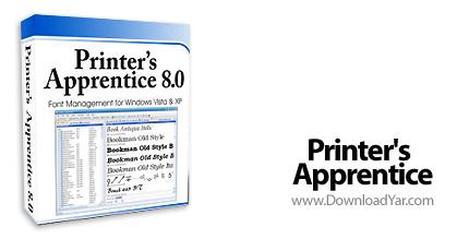 دانلود Printer's Apprentice v8.1.9 - نرم افزار مدیریت فونت ها در ویندوز