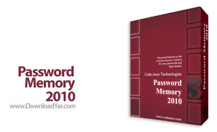 دانلود Password Memory 2010 v3.0.3.220 - نرم افزار ساخت پسورد های ایمن