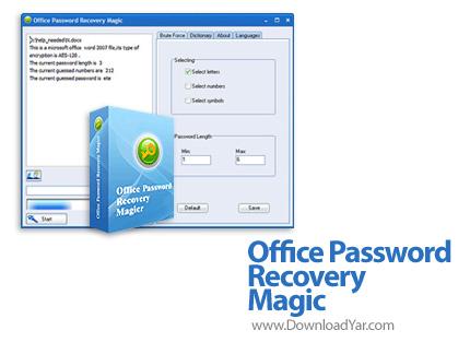 دانلود Office Password Recovery Magic v6.1.1.256 - نرم افزار بازیابی پسورد فایل های آفیس