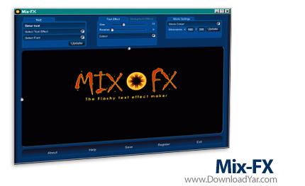 دانلود Mix-FX v1.04 - نرم افزار ساخت انیمیشن های فلش زیبا