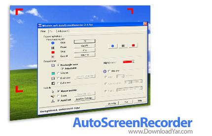 دانلود AutoScreenRecorder Pro v3.1.367 - نرم افزارضبط فیلم از صفحه نمایش