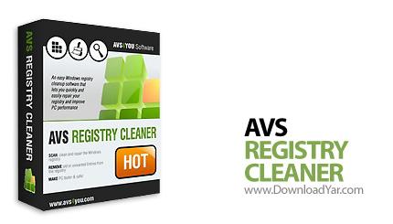 دانلود AVS Registry Cleaner v2.1.2.224 - نرم افزار پاکسازی رجیستری و فایل های اضافی
