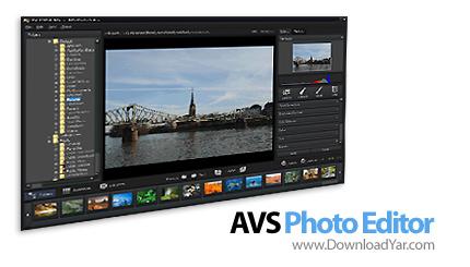 دانلود AVS Photo Editor v1.2.1.68 - نرم افزار ویرایش و مدیریت تصاویر