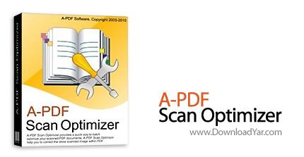 دانلود A-PDF Scan Optimizer v2.0.0 - نرم افزار بهینه سازی تصاویر اسکن شده در قالب PDF
