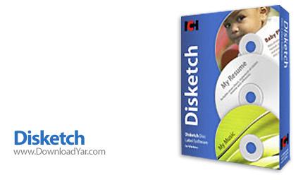 دانلود NCH Disketch v2.10 - نرم افزار طراحی لیبل سی دی و دی وی دی