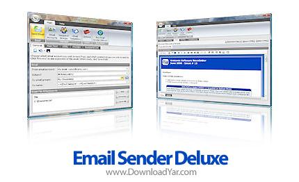 دانلود Kristanix Software Email Sender Deluxe v2.26 - نرم افزار ارسال ایمیل تبلیغاتی به کاربران