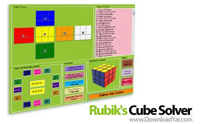 دانلود Rubik's Cube Solver v1.0 - نرم افزار حل مکعب روبیک