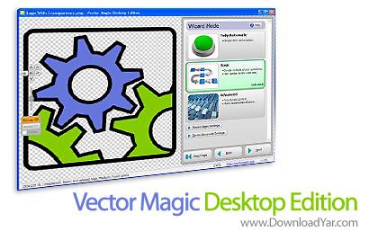 دانلود Vector Magic Desktop Edition v1.15 - نرم افزار ساخت وکتور از تصاویر
