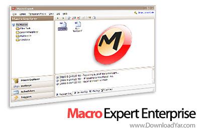 دانلود Macro Expert Enterprise v2.9.9.3 Build 4461 - نرم افزار انجام دستورات شما در زمان معین